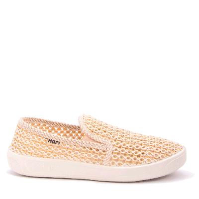 Плетени обувки с ластик 037-1
