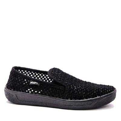 Плетени обувки с ластик 037-2
