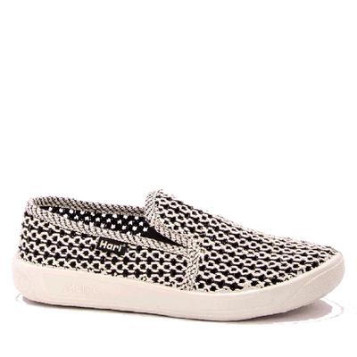 Плетени обувки с ластик 037-3