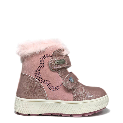 ДЕТСКИ БОТИ H-208 Pink