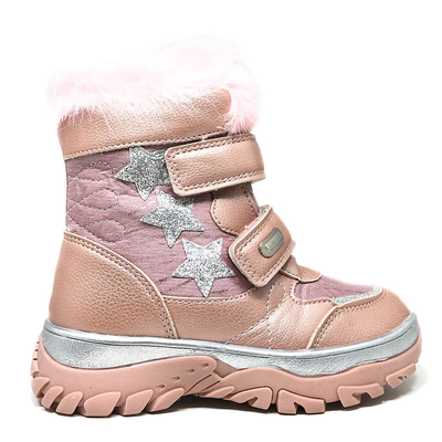 ДЕТСКИ БОТИ H-232 Pink
