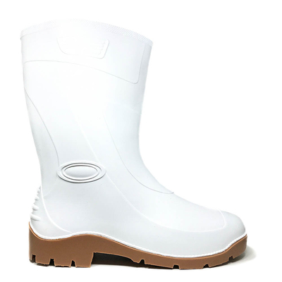 Бели гумени ботуши 0016